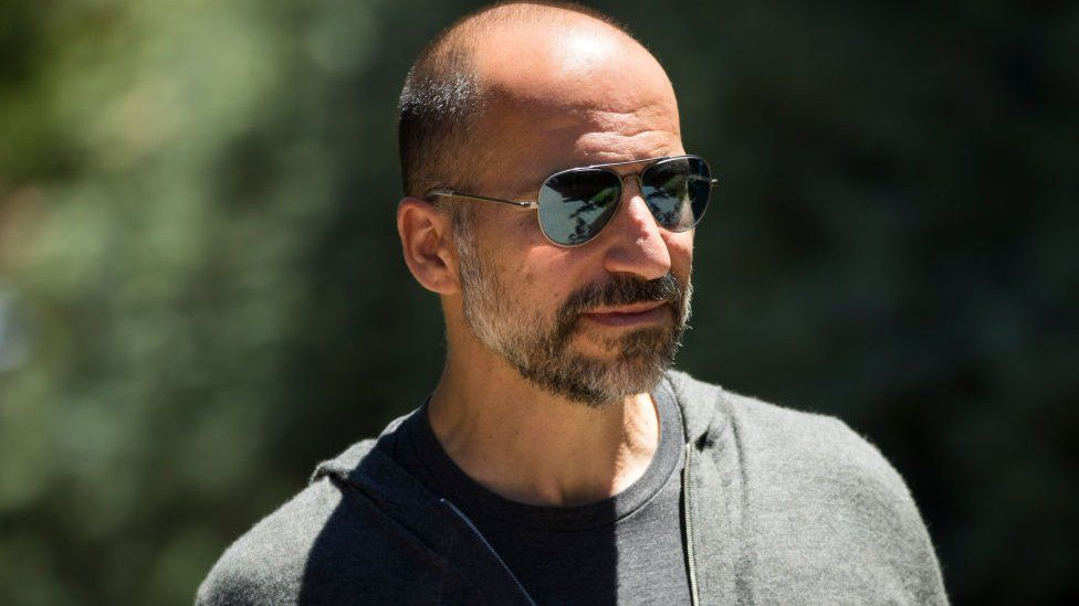 Uber boss Dara Khosrowshahi