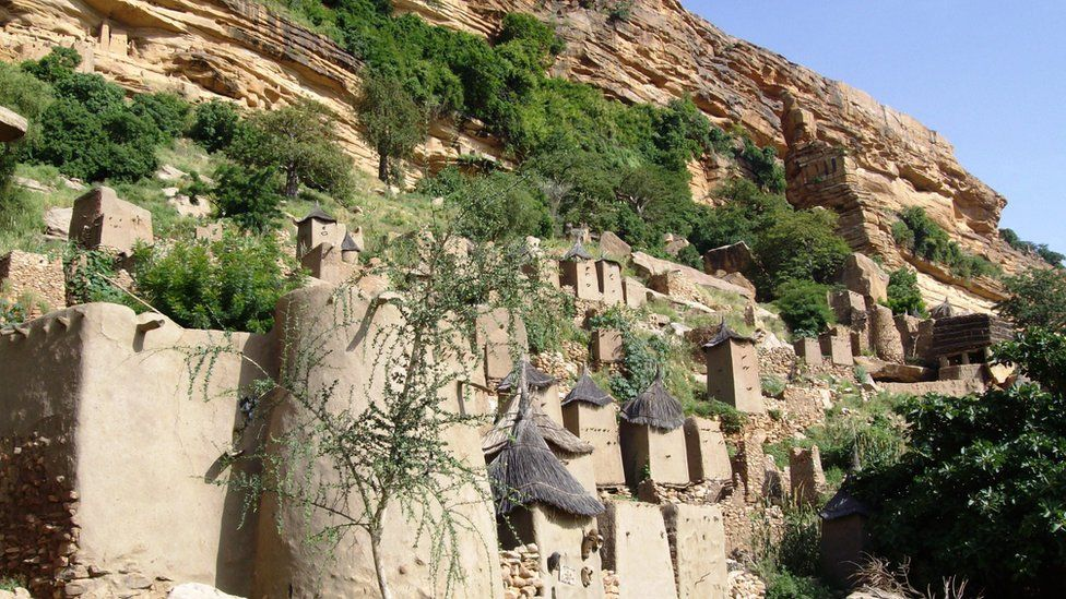 Traditional Dogon homes
