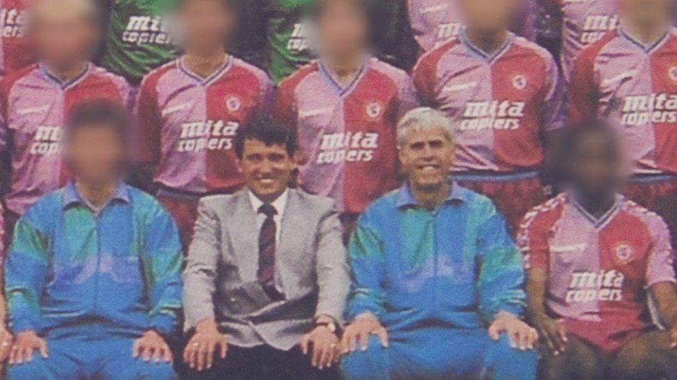 Aston Villa team photo