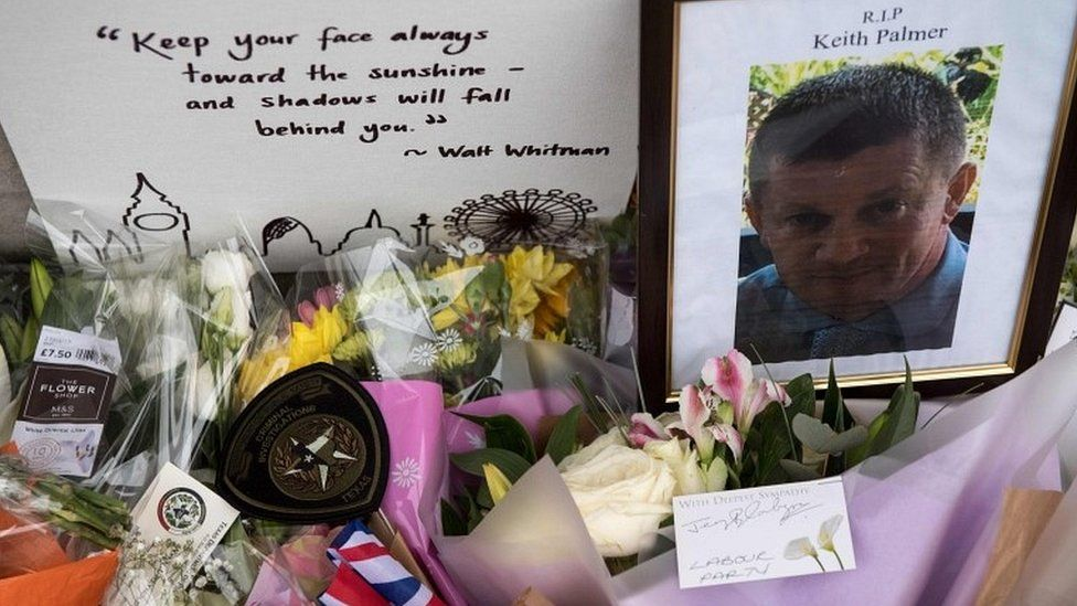 Tributes to PC Palmer
