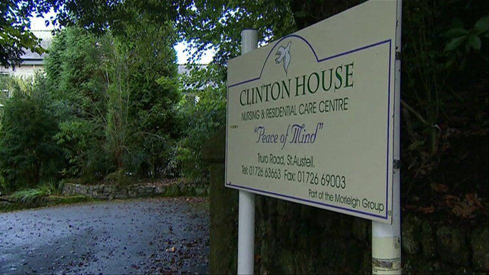 Clinton House sign