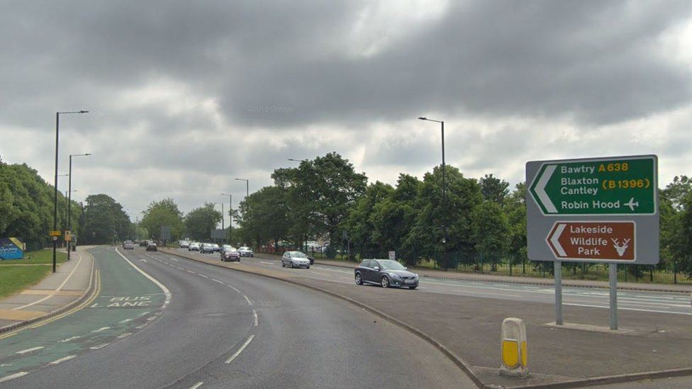 Start of Bawtry Road