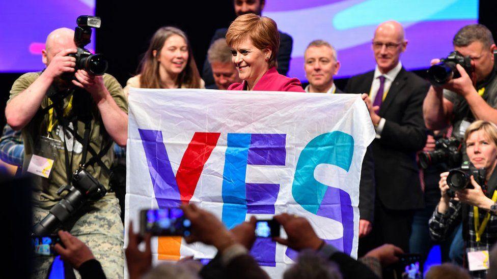 Sturgeon Yes banner