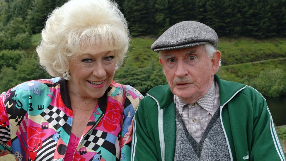 Jean Fergusson and Robert Fyfe in Last of the Summer Wine