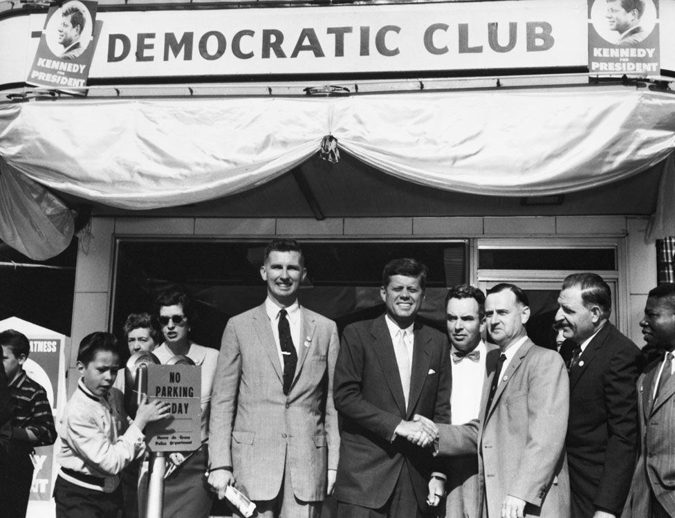 Tydings campaigned with JFK in Maryland in May 1960
