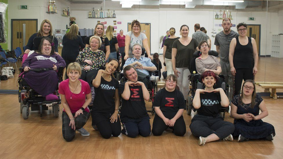 Strictly Cymru instructors and dancers