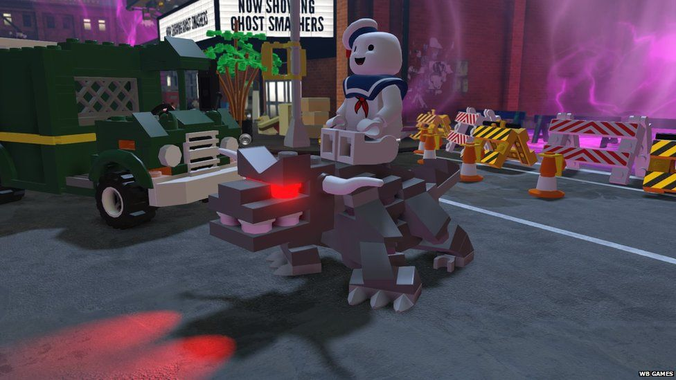 The Lego Dimensions game