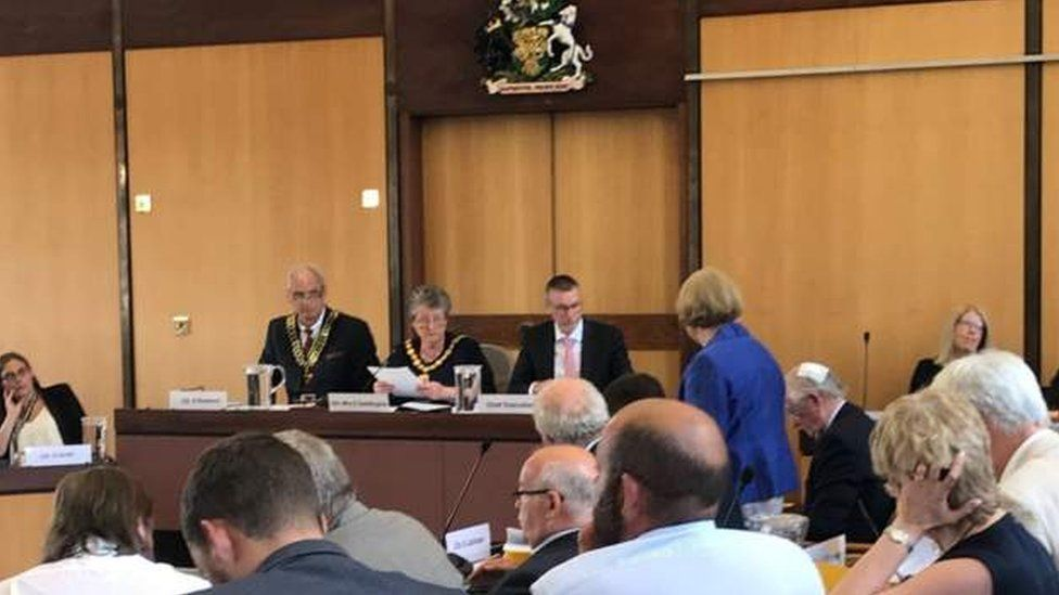 Meeting at Nottinghamshire County Hall