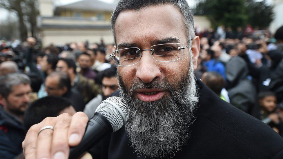 Anjem Choudary in April 2015