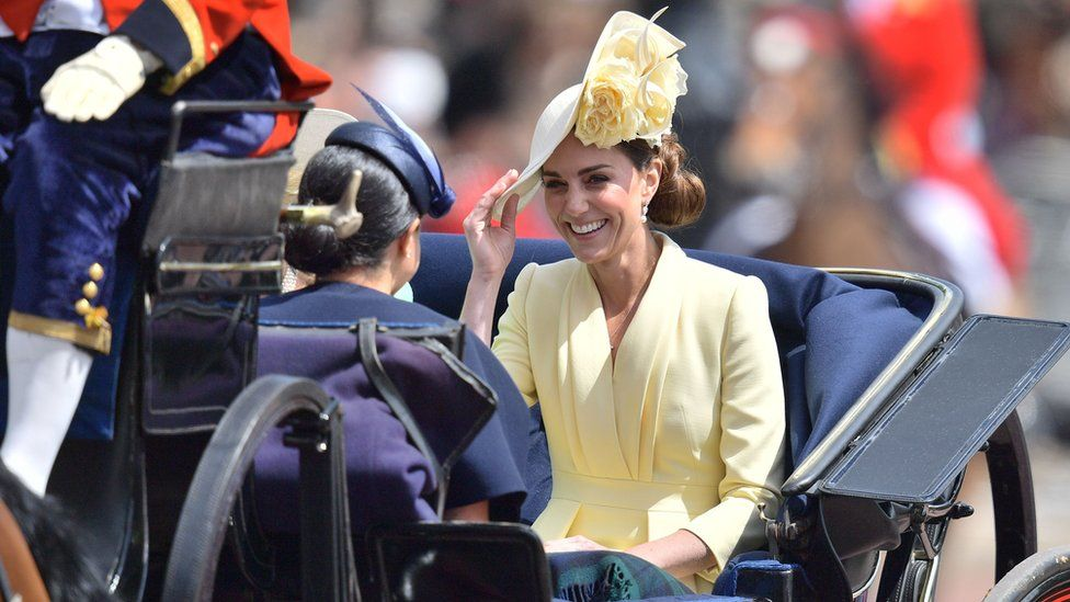 The Duchess of Cambridge at Trooping the Colour