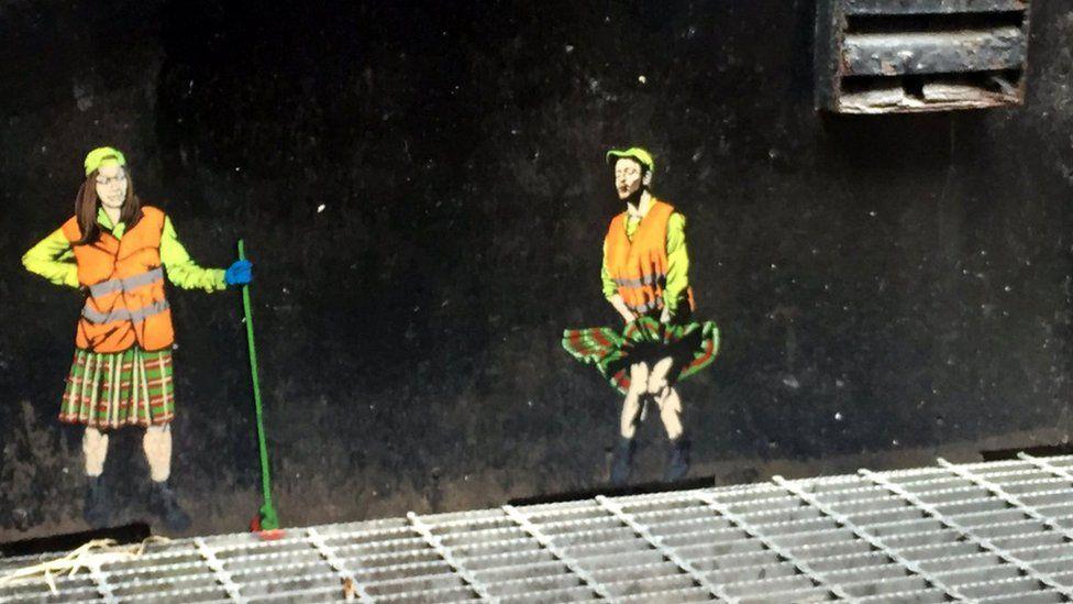 Nuart image in Aberdeen
