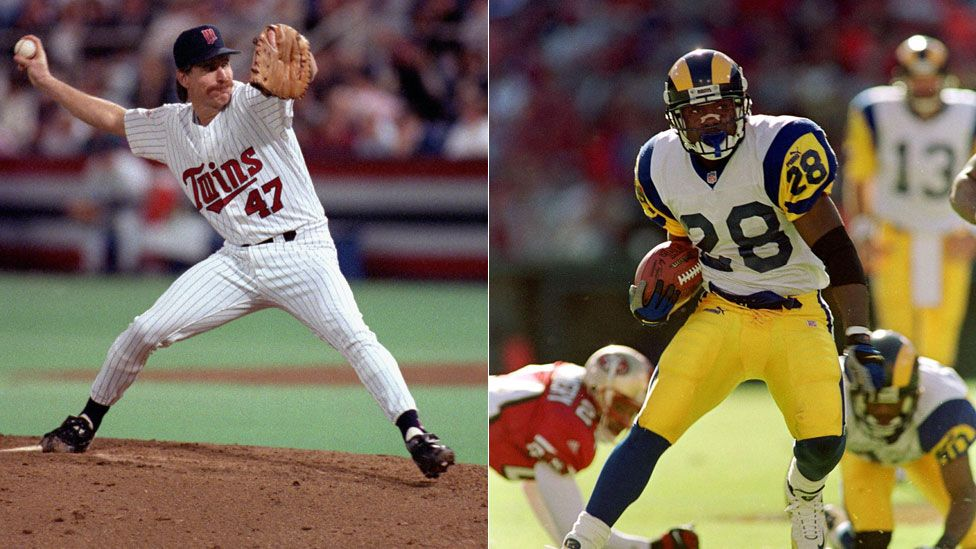 Minnesota Twins in 1991 and the St Louis Rams in 1999