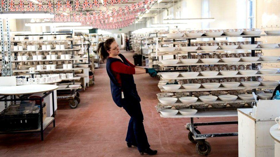 UK ceramics factory