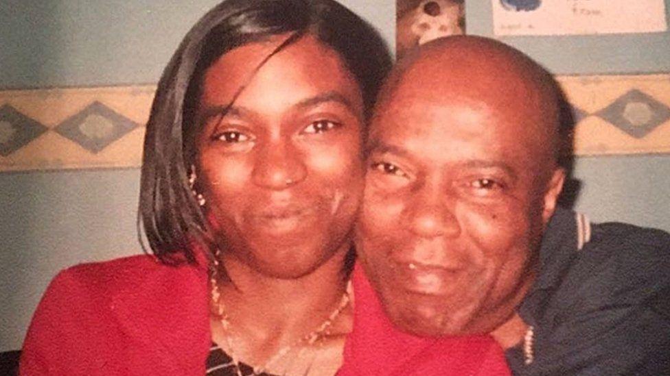 Noel Brown, 69, and his daughter, Marie Brown, 41