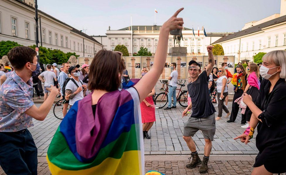 LGBT flashmob, 11 Jun 20