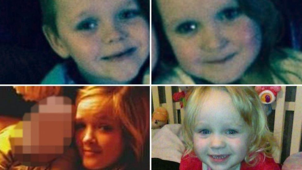 Four children killed