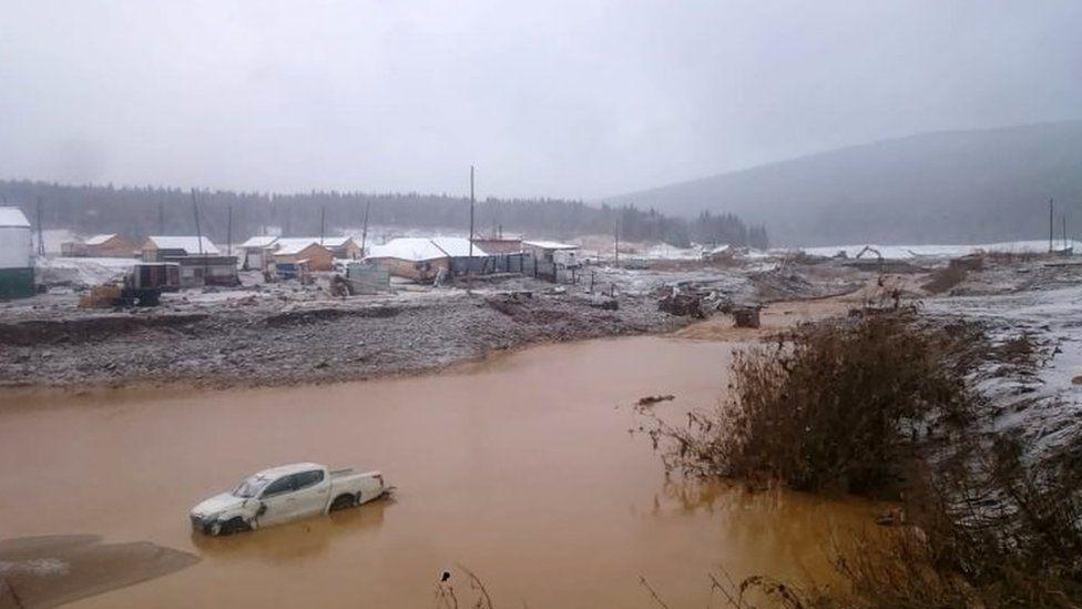 Russia dam collapse at Siberia gold mine kills 15