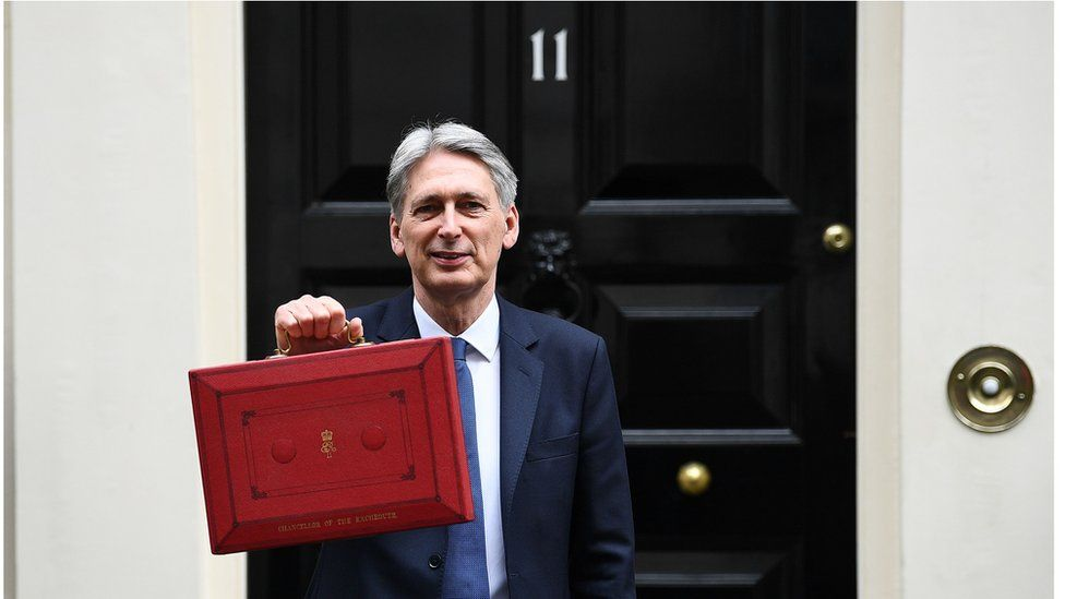 Philip Hammond ahead of delivering his 2017 Budget