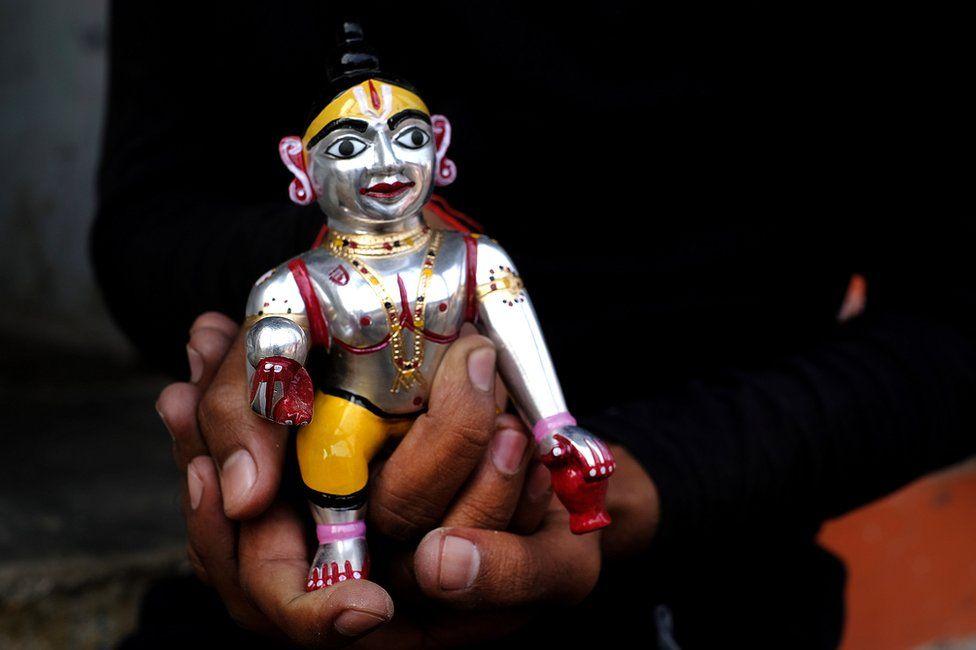 Infant Ram in Ayodhya