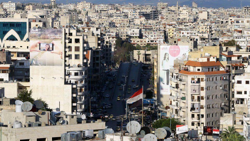 Syrian coastal city of Latakia (17 March 2016)