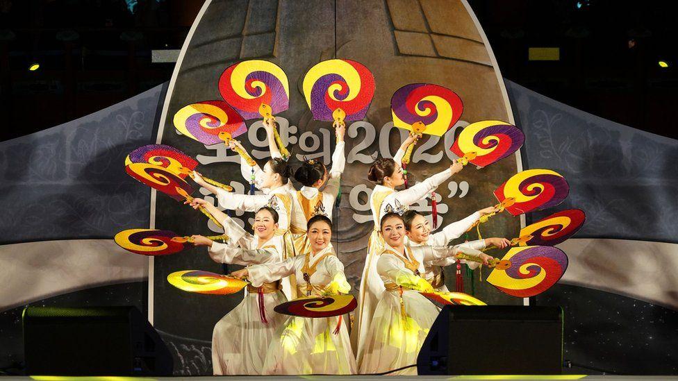 Año nuevo en Seúl, Corea del Sur