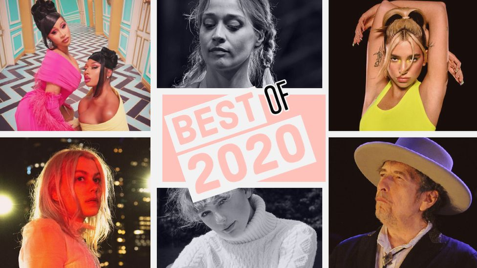 Some of the artists on the best of 2020 list