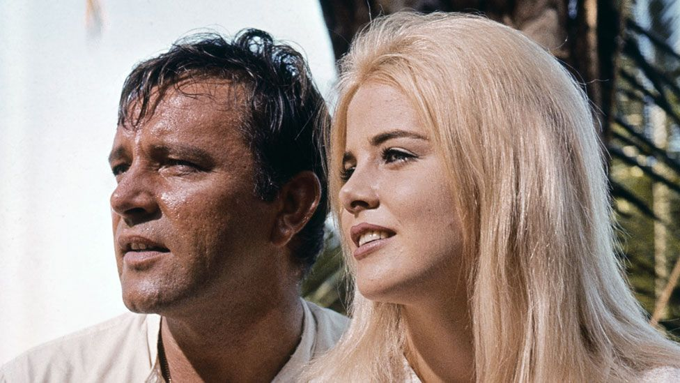 Lyon alongside Richard Burton in The Night of the Iguanas