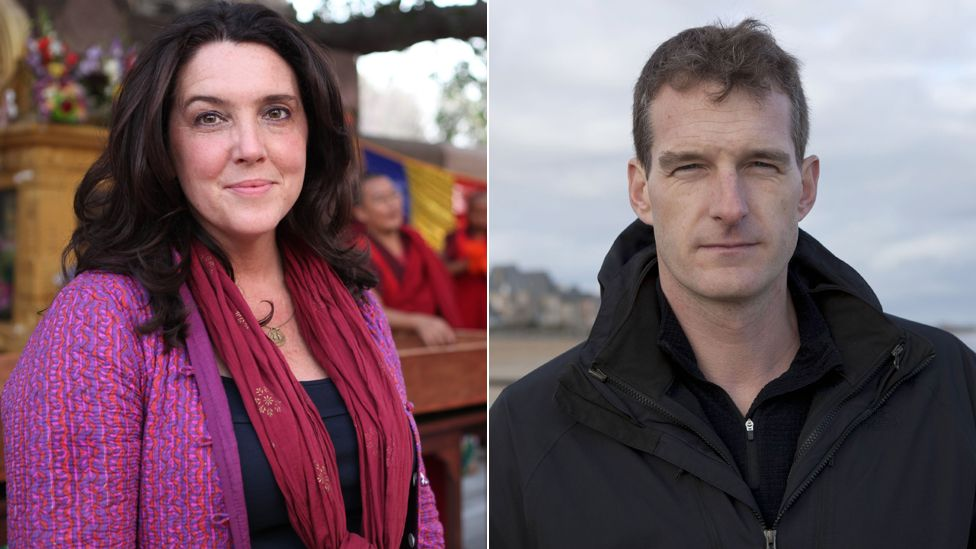 Bettany Hughes, Dan Snow