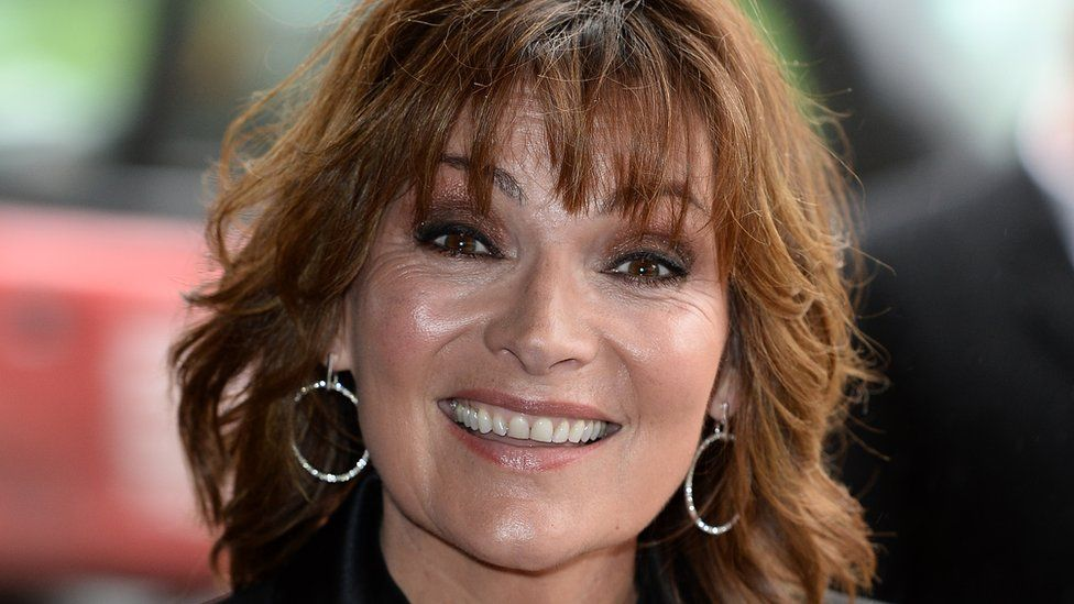 """Lorraine Kelly attends the 2019 """"TRIC Awards"""" held at The Grosvenor House Hotel on March 12, 2019 in London"""