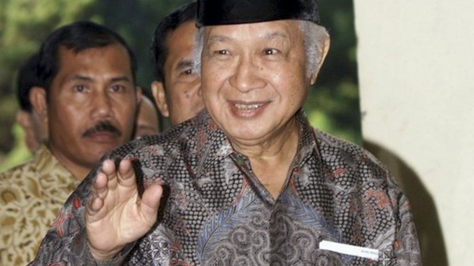Former Indonesian President Suharto