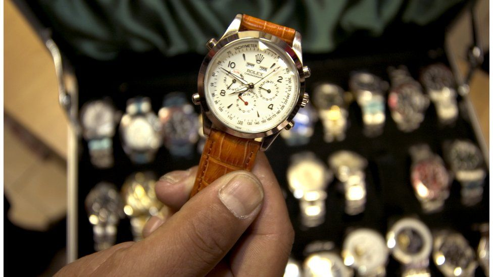 What s wrong with buying fake luxury goods  - BBC News 92b1bef2f