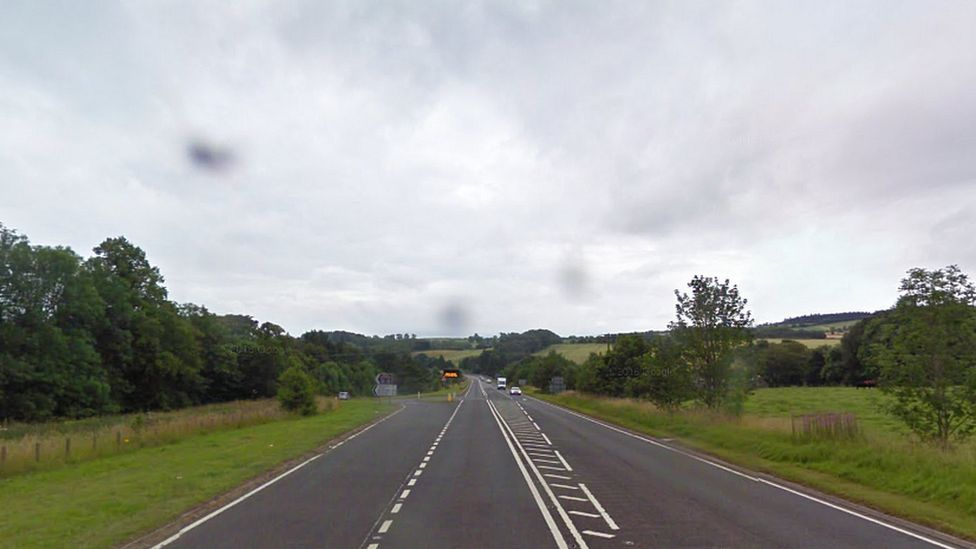 A68 south of Earlston