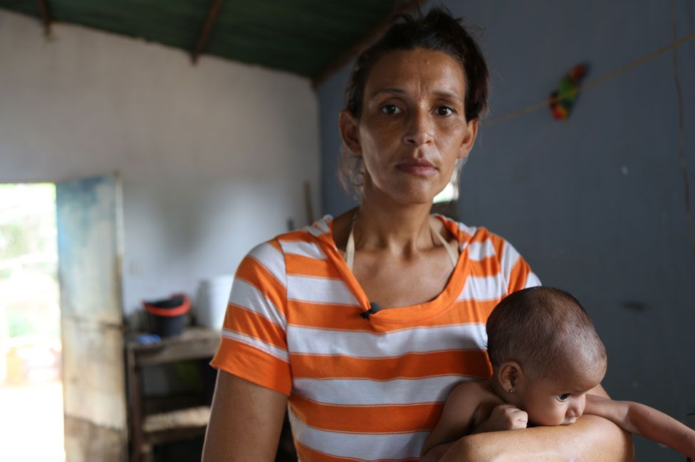 This mother eats so little that she cannot breastfeed her baby