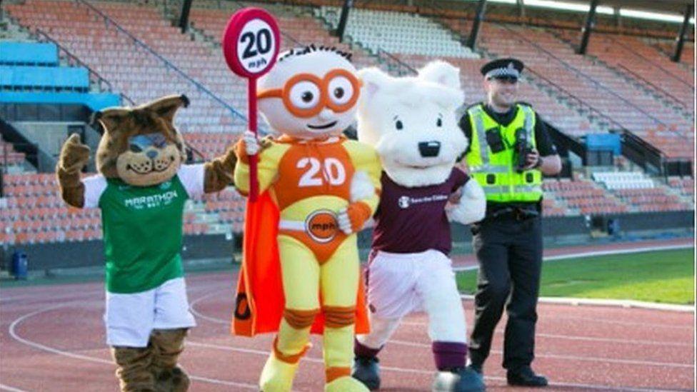 20mph mascots