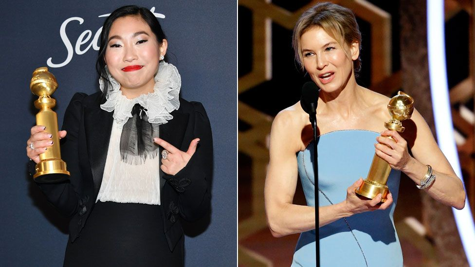 Awkwafina and Renee Zellweger
