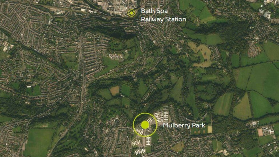 Cable car plan for Bath