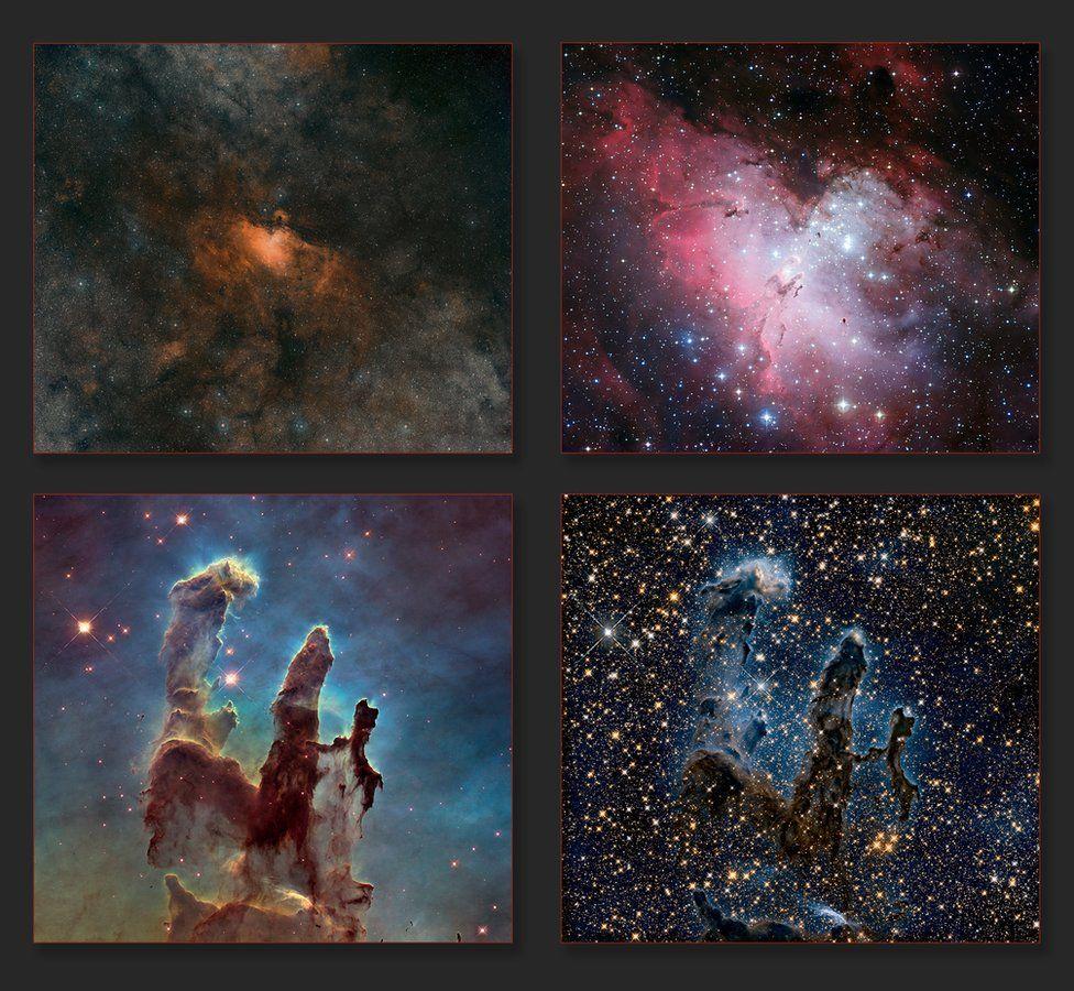 Hubble image composite