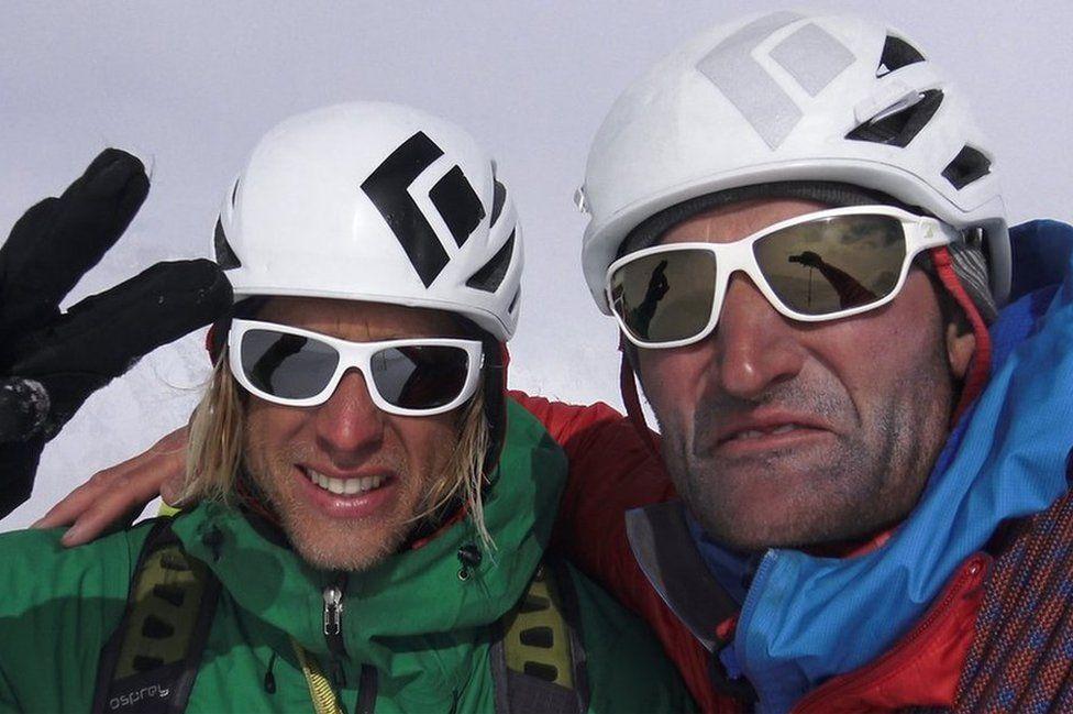 Matt and Jon take a selfie