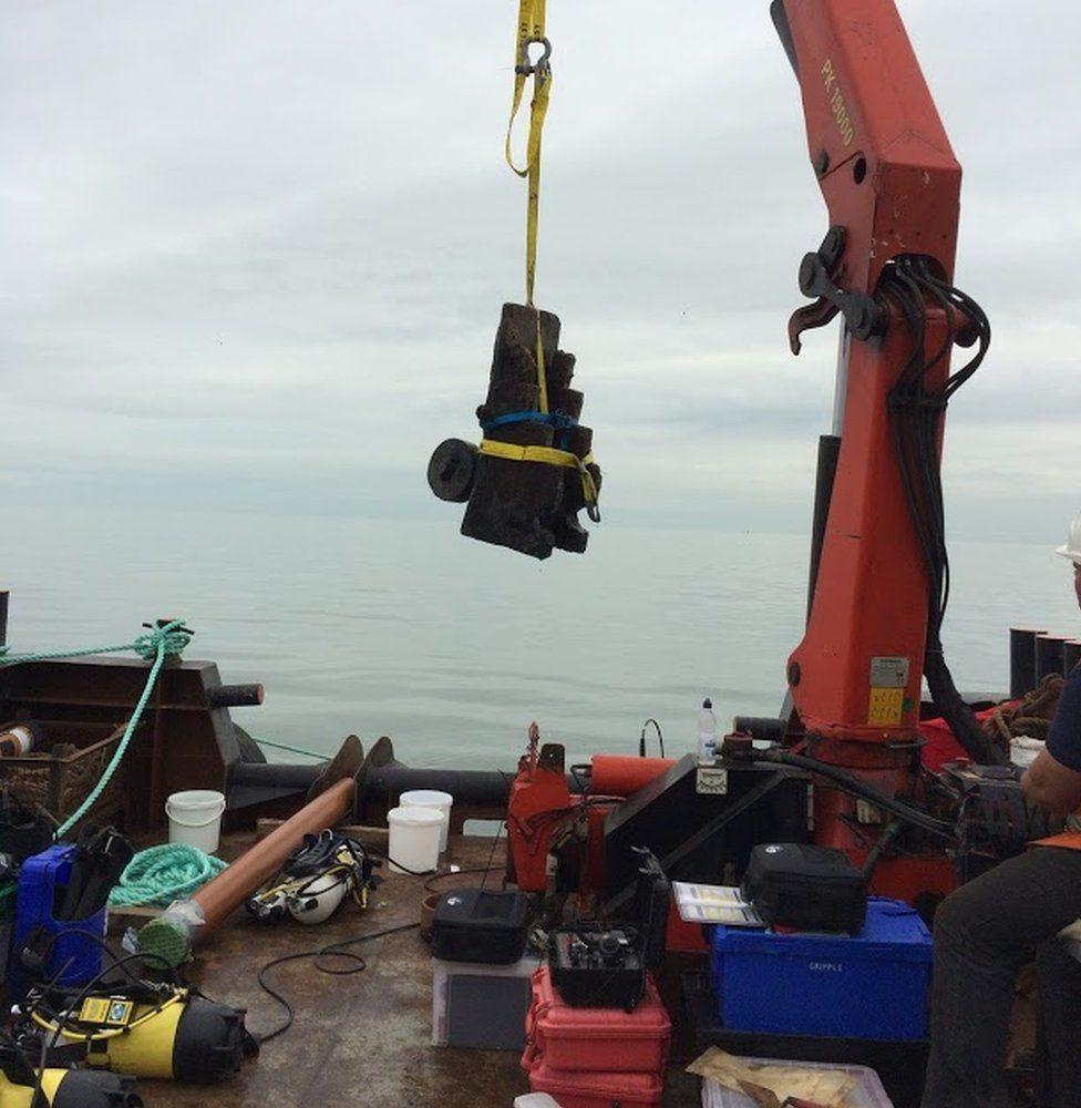 London shipwreck off Essex