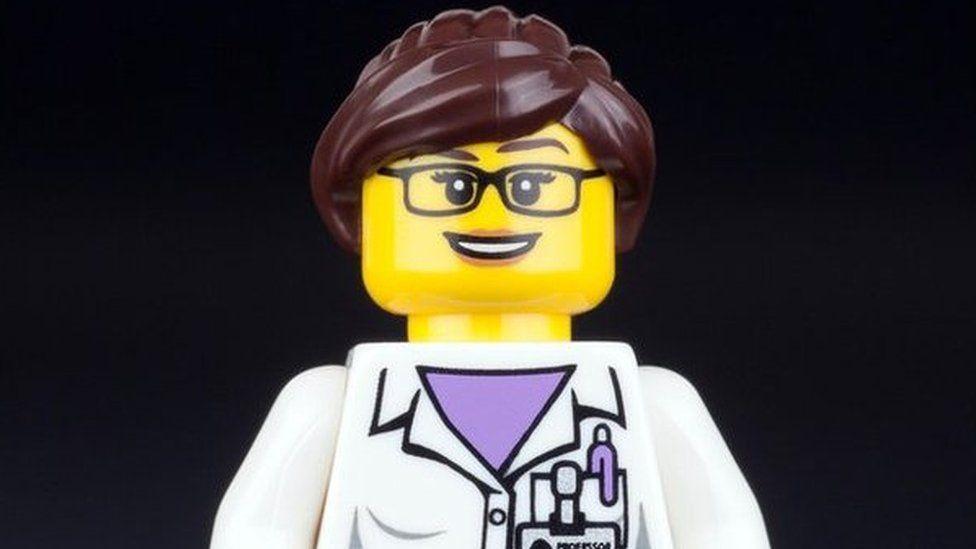 Lego professor character