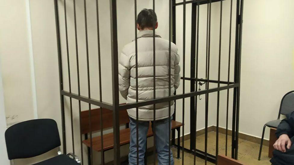 Сергей Шевцов во время избрания меры пресечения
