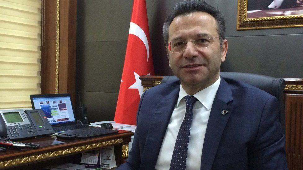 Huseyin Aksoy, the governor of Diyarbakir
