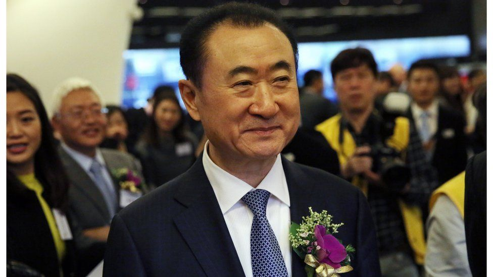 Dalian Wanda Group chief executive Wang Jianlin