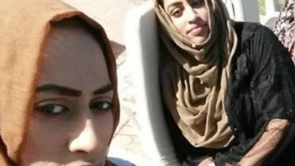 Kazeema Afzal and her sister Areema Nasreen