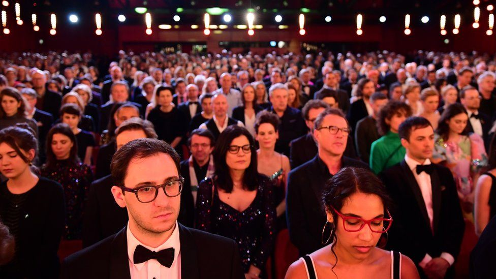minute's silence at opening of berlin film festival