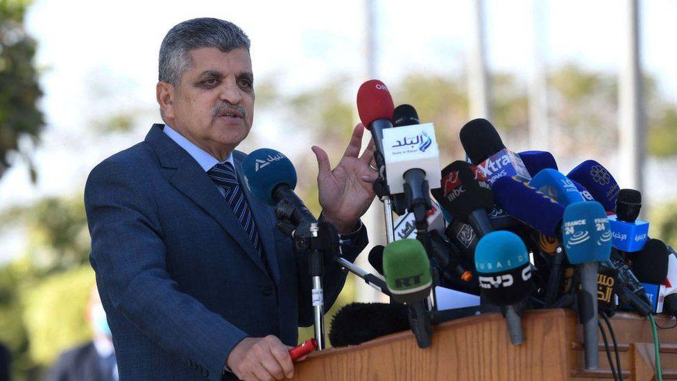 Egypt's Suez Canal Authority chief Osama Rabie