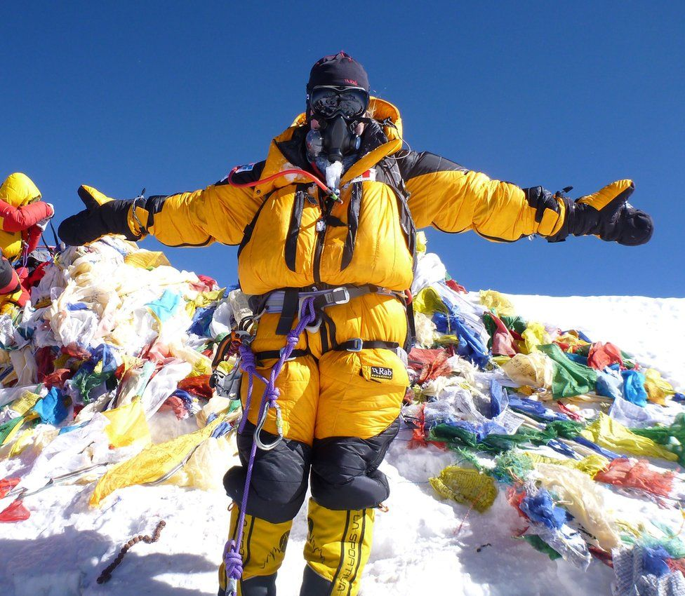 Mollie Hughes on Everest
