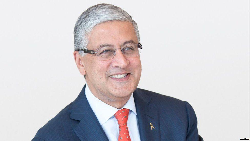 An undated image of Ivan Menezes, Chief Executive of Diageo plc.