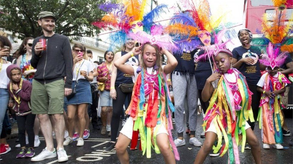 Dancers in the Children's Day Parade