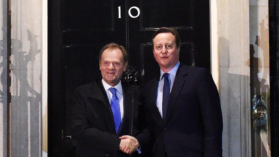 Donald Tusk and David Cameron